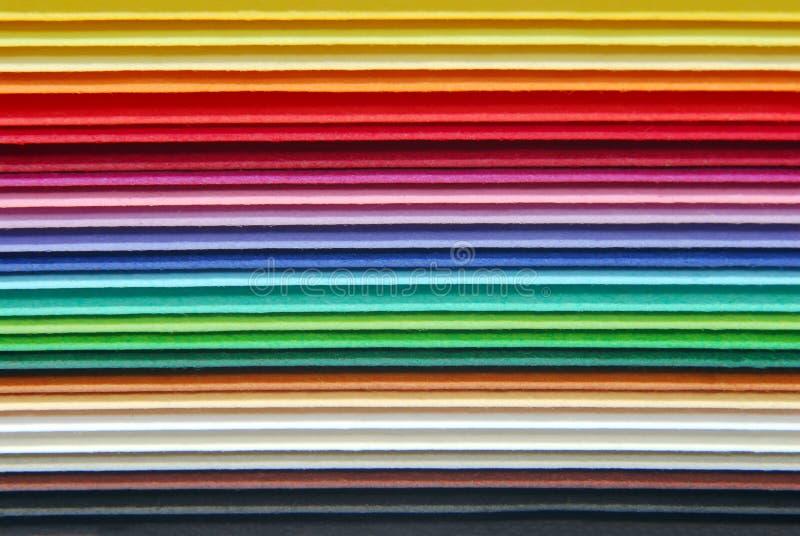 papel multicolour foto de stock royalty free