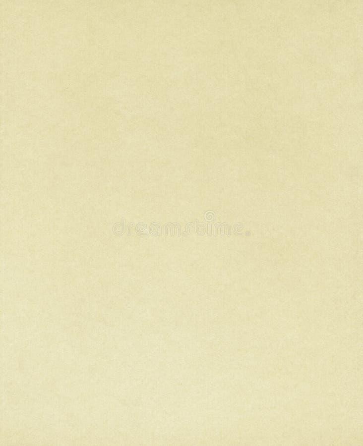 Papel normal amarillento fotografía de archivo