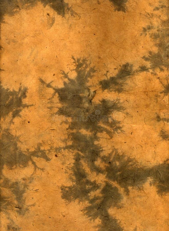 Papel orgânico de Brown fotos de stock