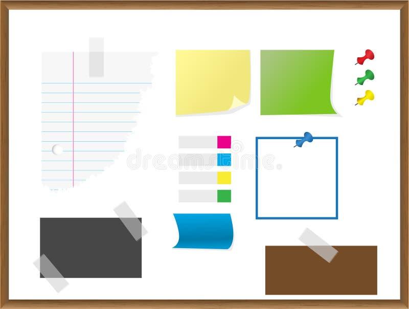 Papel, papel, notas, docu libre illustration