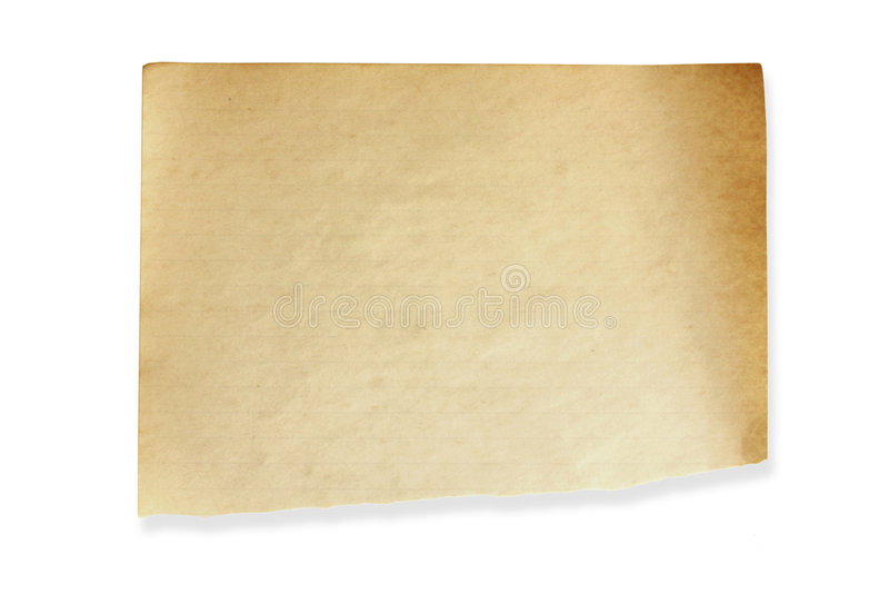 Papel para cartas envelhecido fotos de stock royalty free