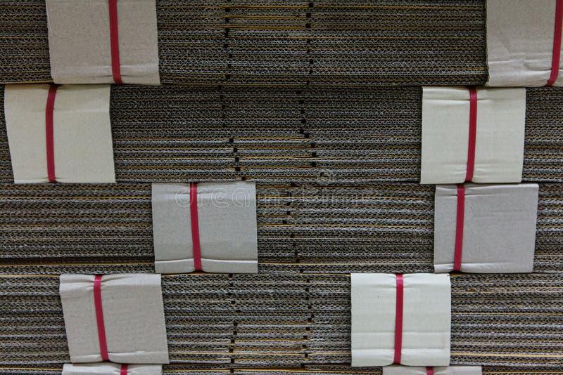 Papel para el material de fabricación. fotos de archivo