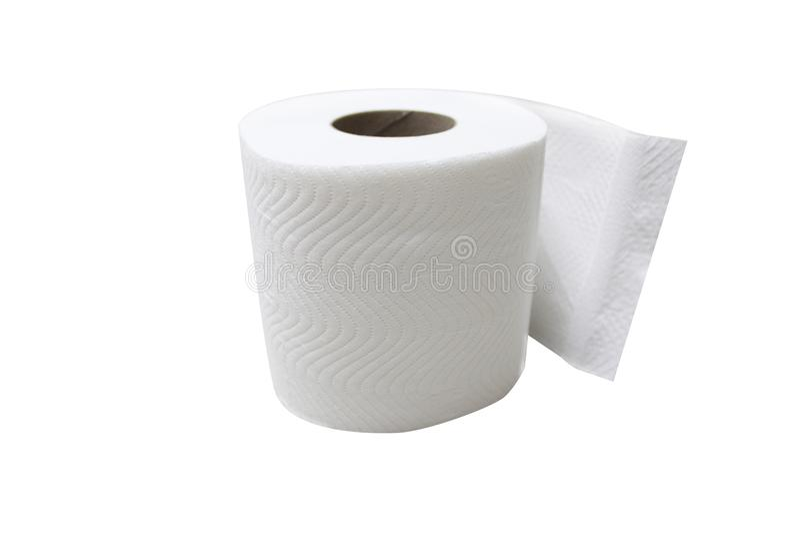 Papel para o toalete imagem de stock