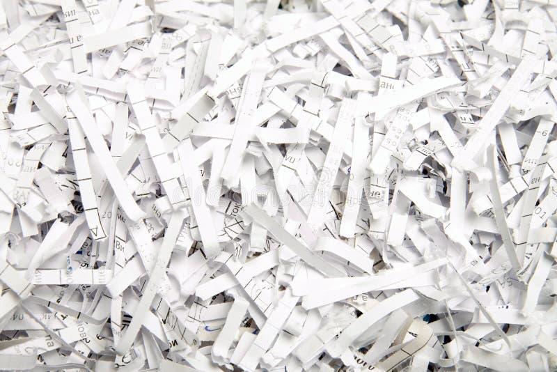 Papel para recicl foto de stock