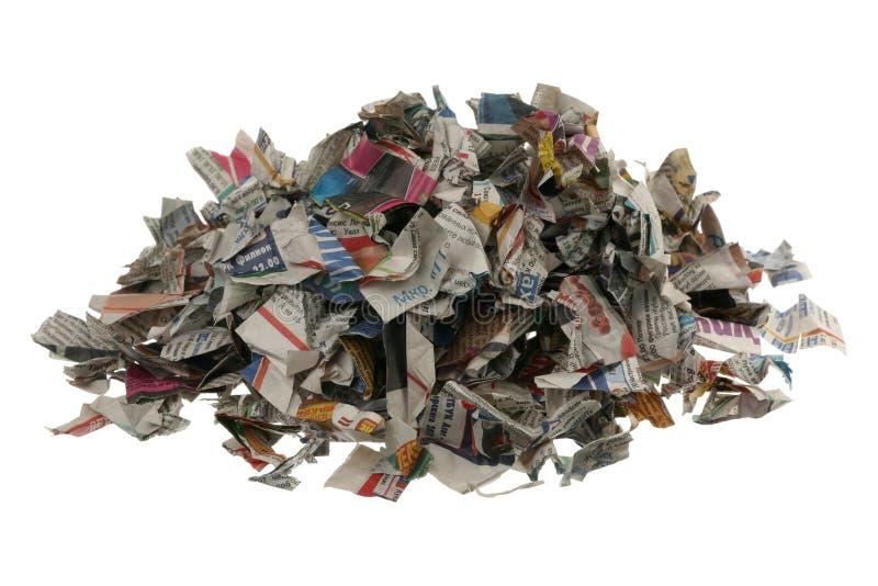 Papel para reciclar foto de archivo libre de regalías