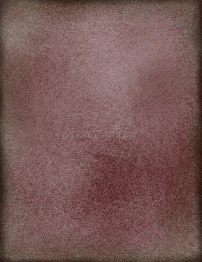 Papel, pergamino, o pintura del cuero ilustración del vector