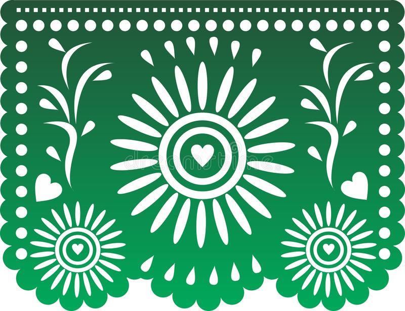 Papel Picado royalty-vrije illustratie