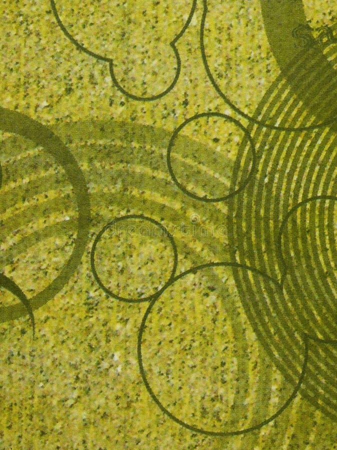Papel pintado abstracto con los círculos fotos de archivo