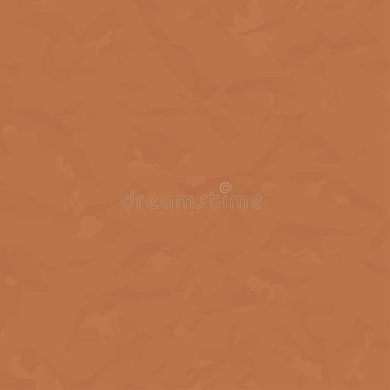 Papel pintado abstracto con textura del papel machacado, ejemplo del vector stock de ilustración