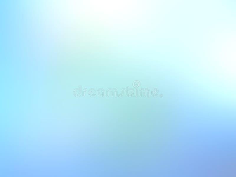 Papel pintado abstracto del fondo de la falta de definición del color en colores pastel, ejemplo del vector foto de archivo libre de regalías