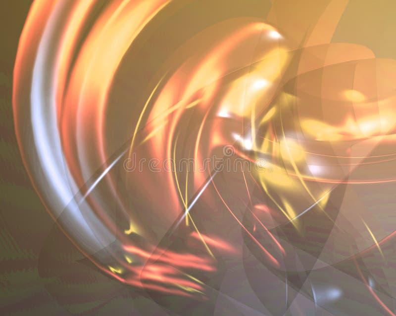 Papel pintado abstracto translúcido del fondo stock de ilustración