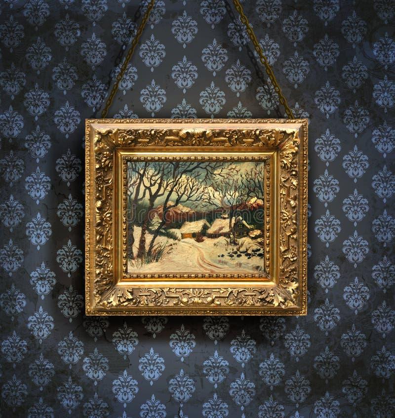 Papel pintado antiguo imagen de archivo imagen de grunge - Papel pintado antiguo ...