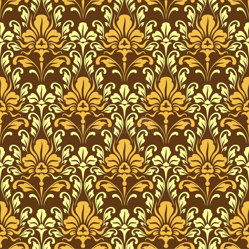 Papel pintado barroco ilustraci n del vector imagen de for Papel pintado barroco