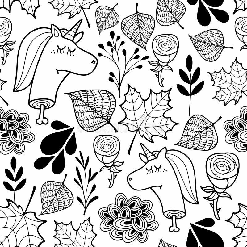 Papel pintado blanco y negro con los unicornios muertos - Papel pintado blanco y negro ...