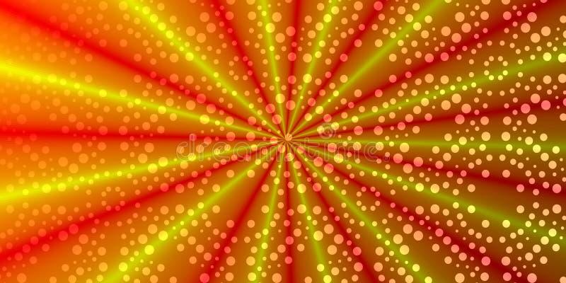 Papel pintado coloreado con la guarnición abstracta ilustración del vector