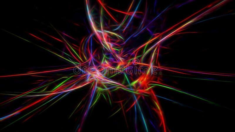 Papel pintado creativo de moda del fractal foto de archivo libre de regalías