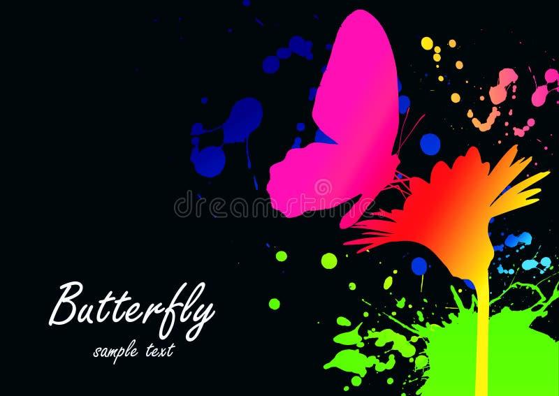 Papel pintado de Colorfull ilustración del vector