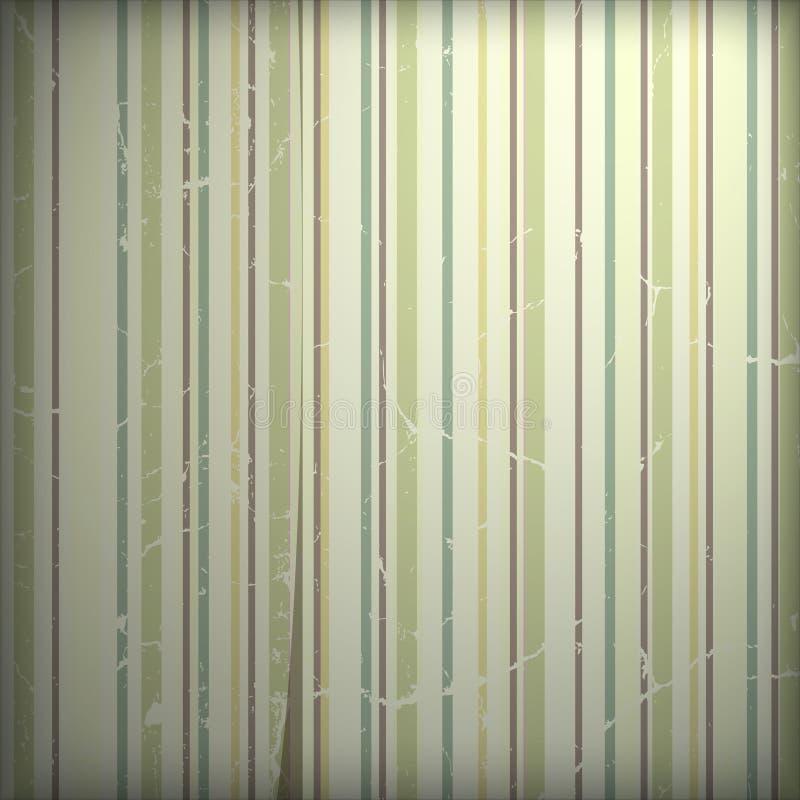 Papel pintado de Grunge ilustración del vector