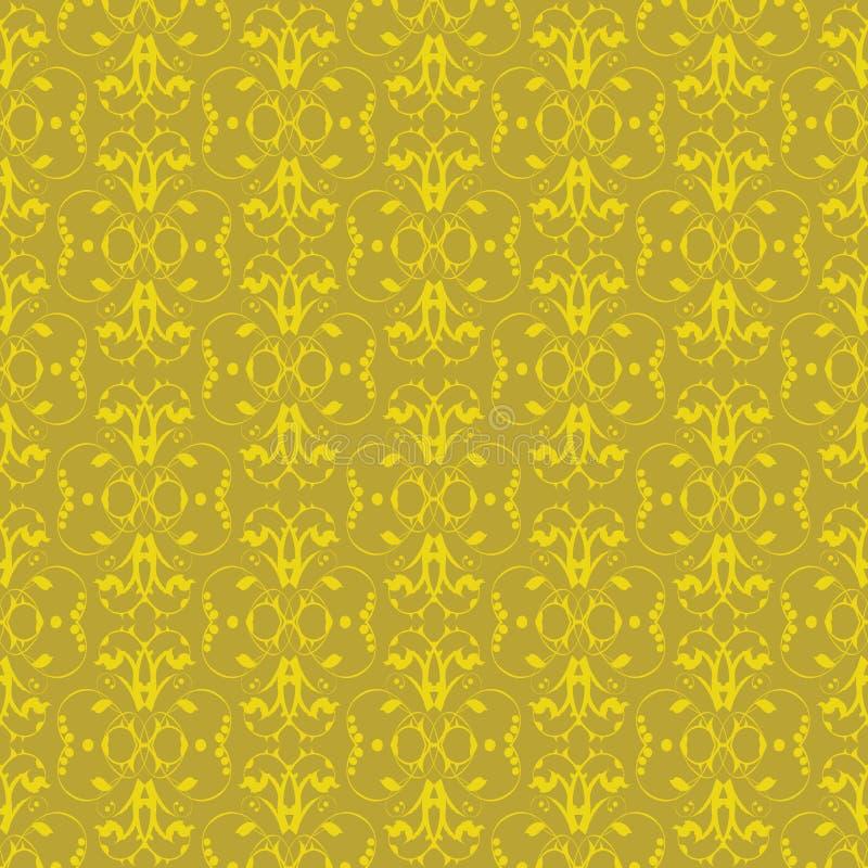 Papel pintado de la flor stock de ilustración