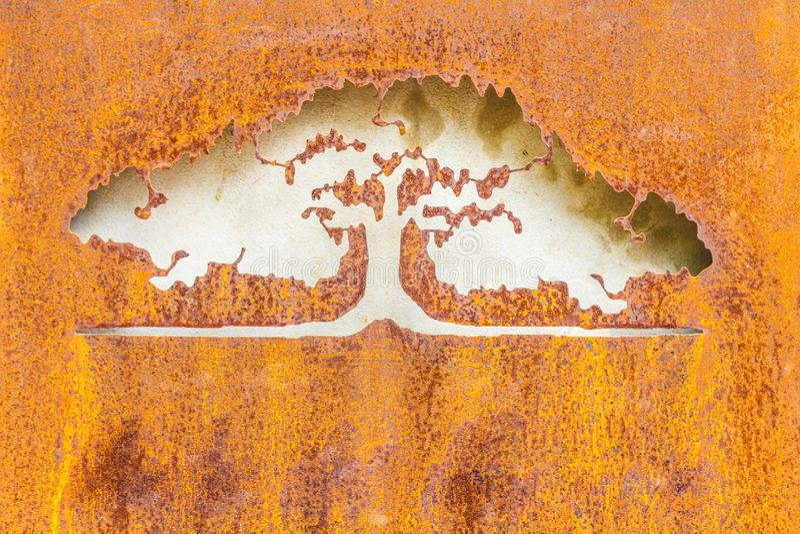 Papel pintado de la textura del metal foto de archivo