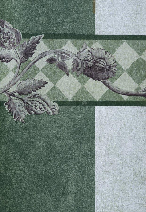 Papel pintado decorativo foto de archivo