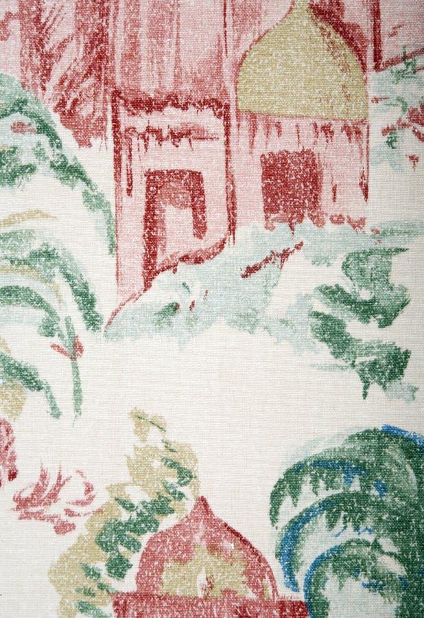 Papel pintado decorativo foto de archivo libre de regalías