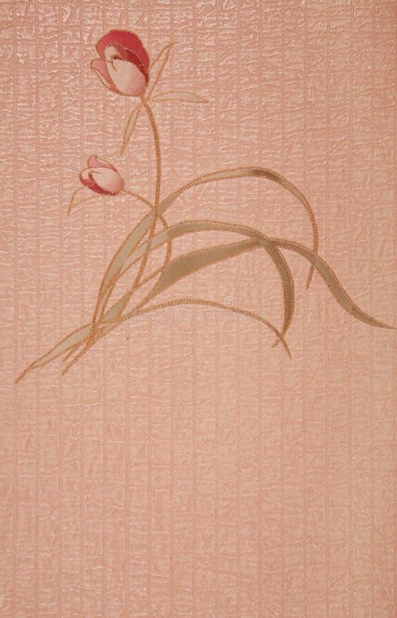 Papel pintado decorativo imágenes de archivo libres de regalías