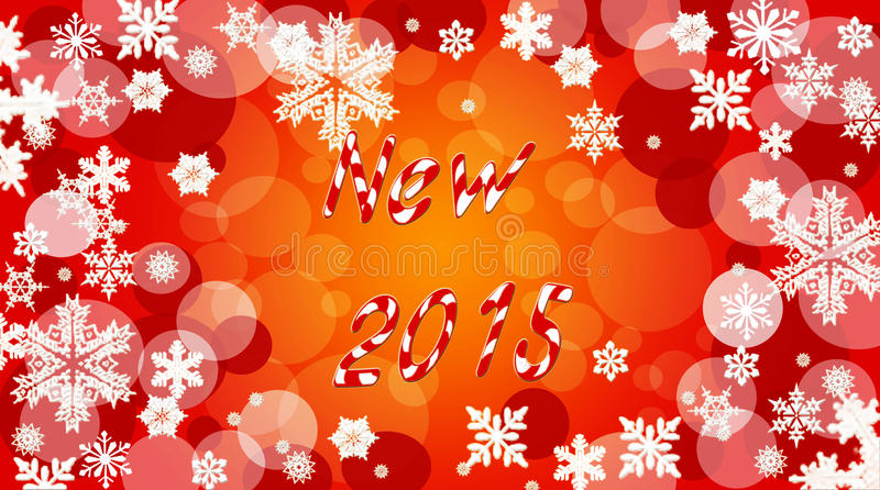Papel pintado del Año Nuevo fotos de archivo libres de regalías