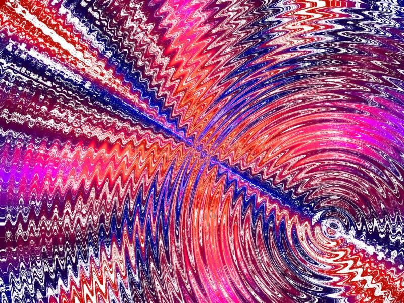 Papel pintado del fondo de la ondulación del agua del teñido anudado fotografía de archivo libre de regalías