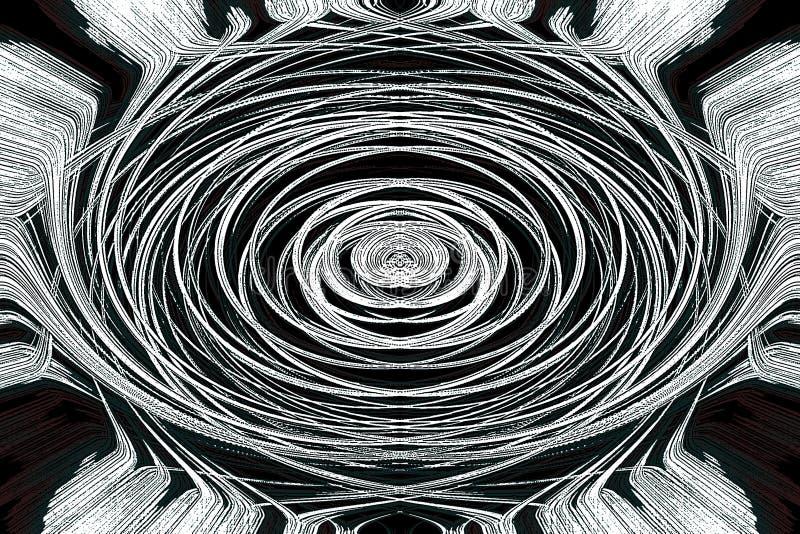 Papel pintado del gráfico del extracto del arte místico ilustración del vector