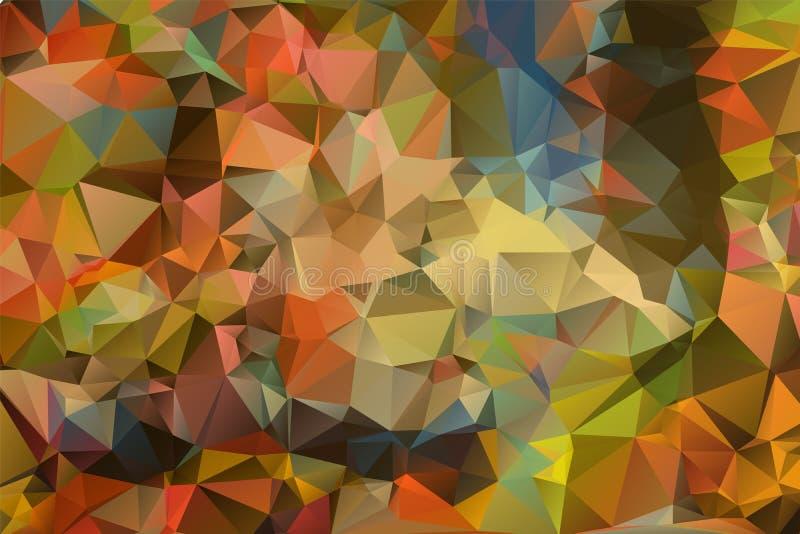 Papel pintado del triángulo foto de archivo libre de regalías