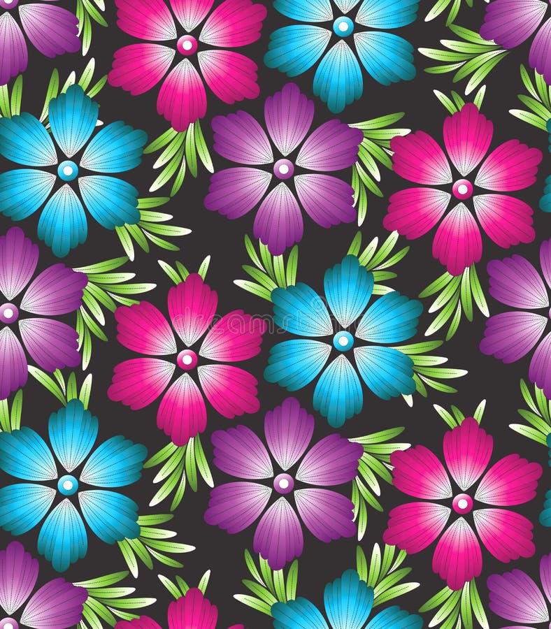 Papel pintado del vector de flores libre illustration