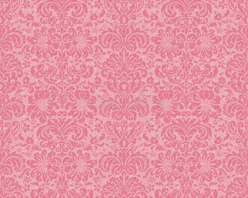 Papel pintado del Victorian - Rose ilustración del vector