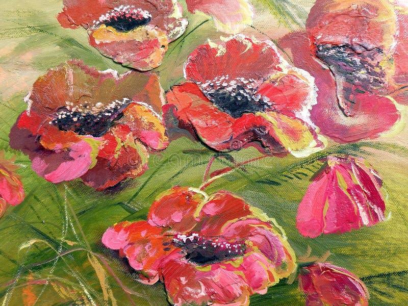 Papel pintado floral imagen de archivo libre de regalías