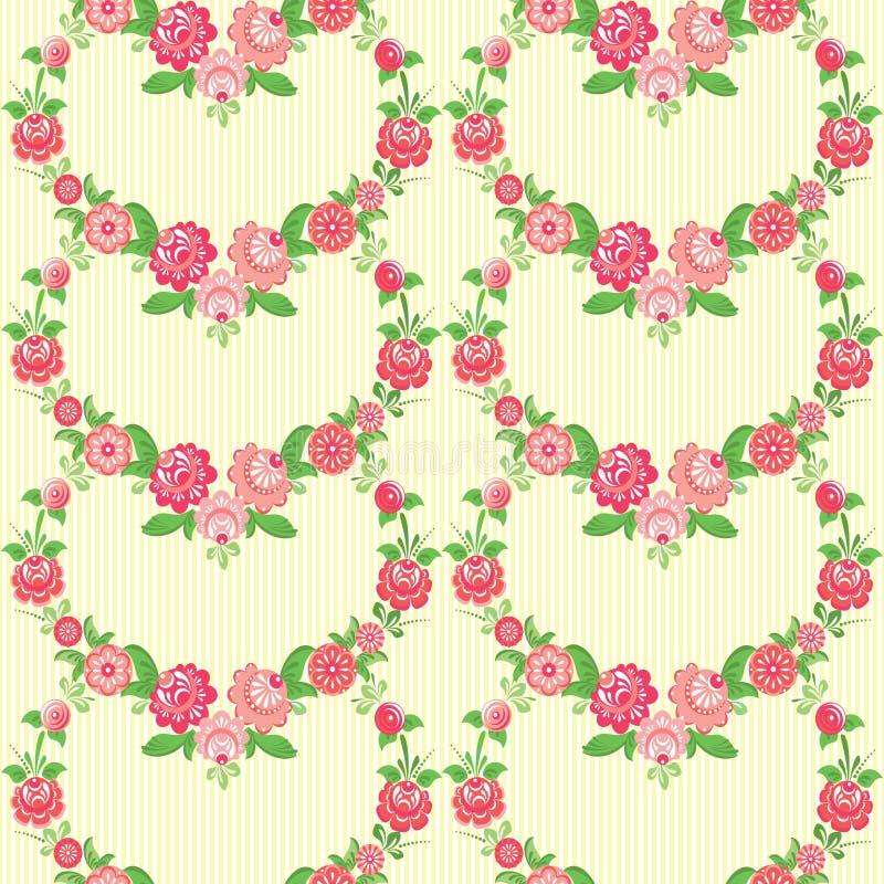 Papel pintado floral libre illustration