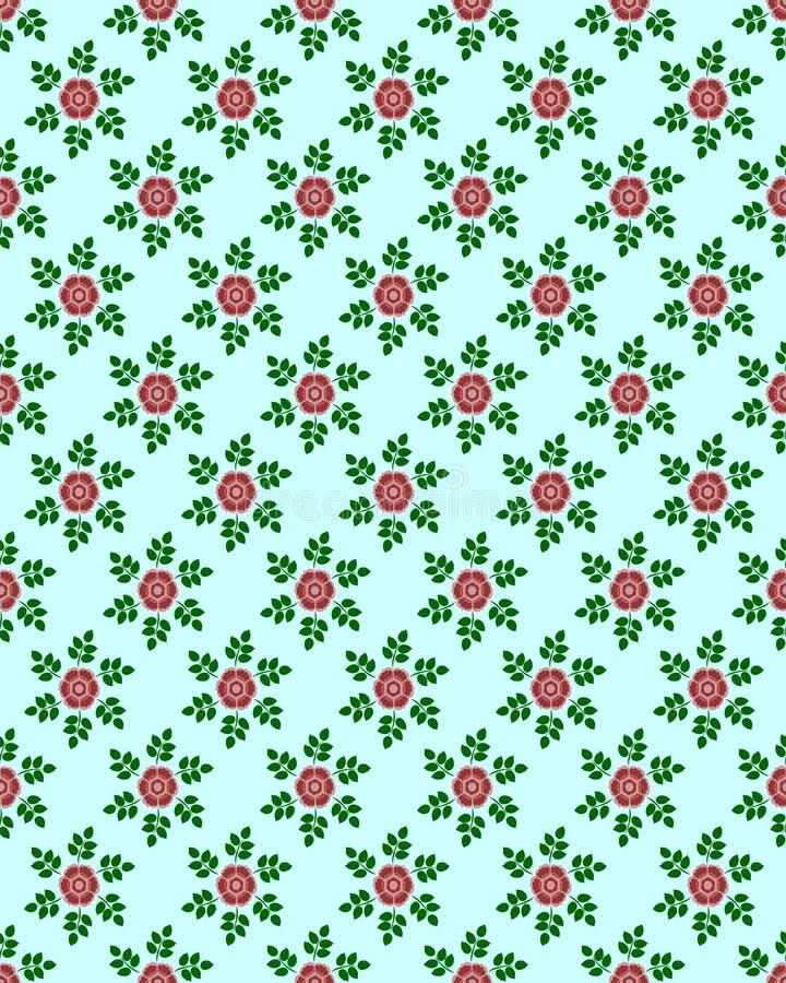 Papel pintado floral imagen de archivo