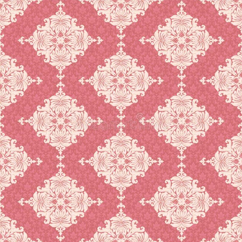 Papel pintado floral clásico stock de ilustración