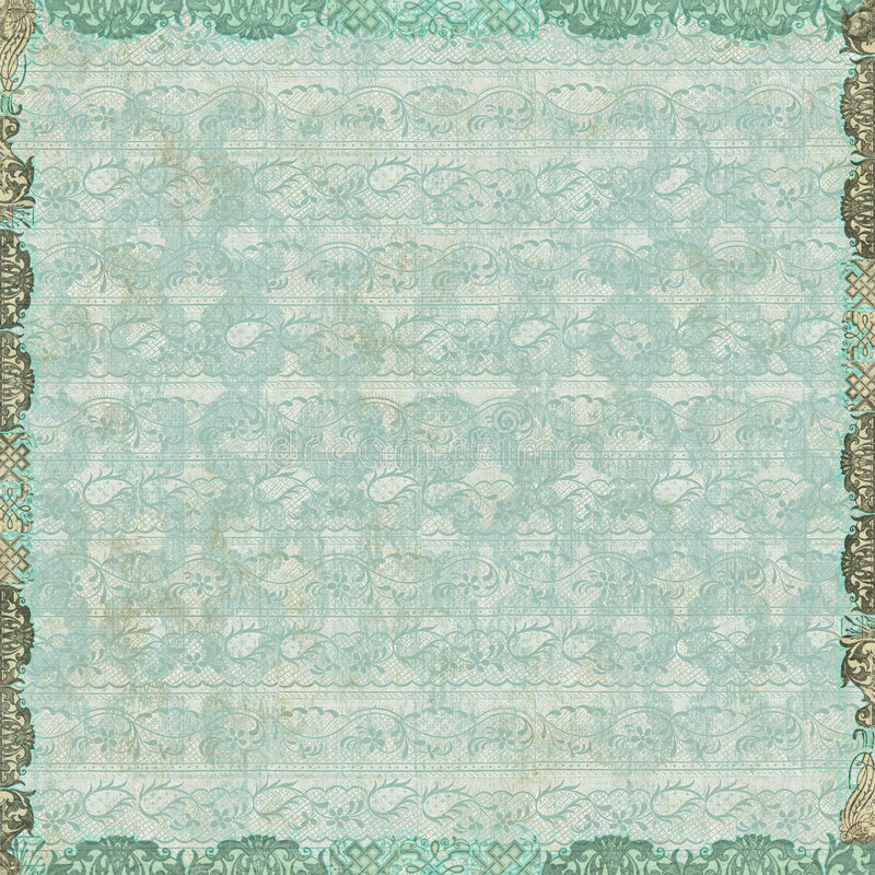 Papel pintado floral de la vendimia imagenes de archivo