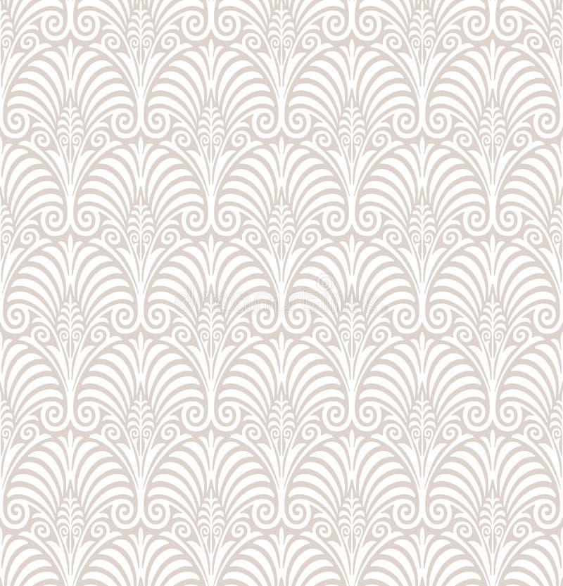 Papel pintado floral inconsútil ilustración del vector