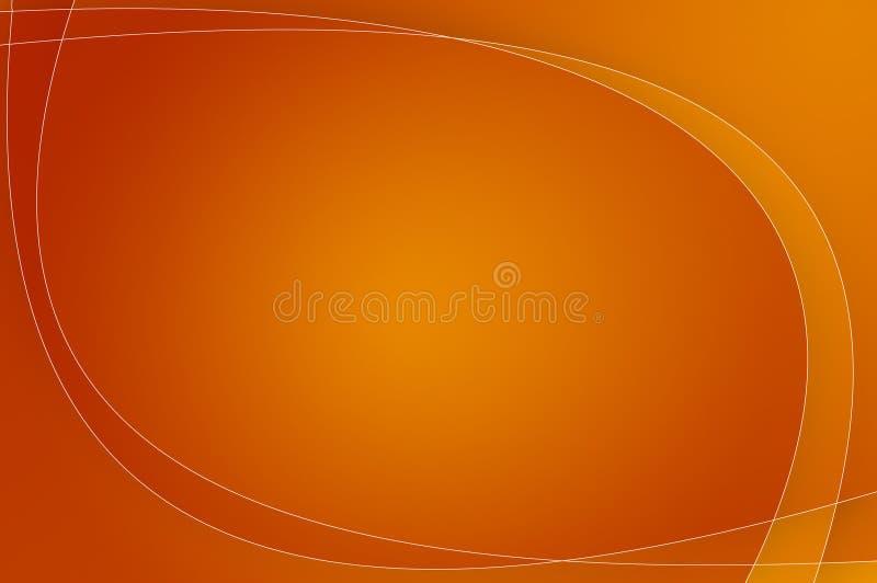 Papel pintado/fondo anaranjados stock de ilustración