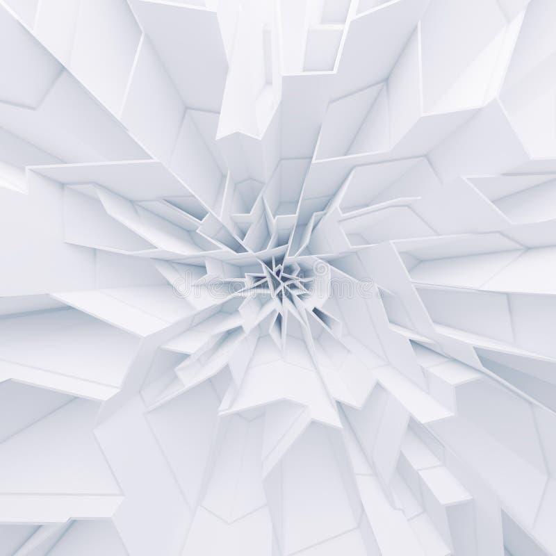 Papel pintado geométrico de los polígonos del extracto del color foto de archivo libre de regalías