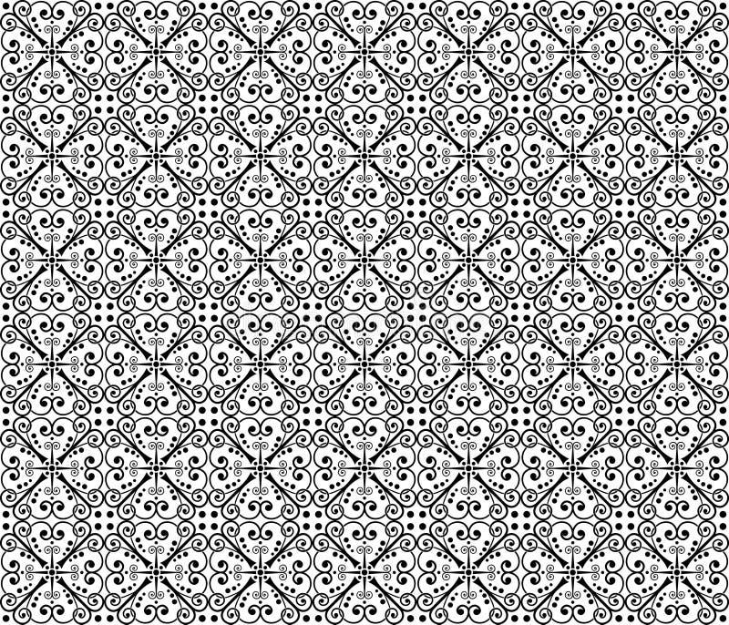 Papel pintado inconsútil ilustración del vector