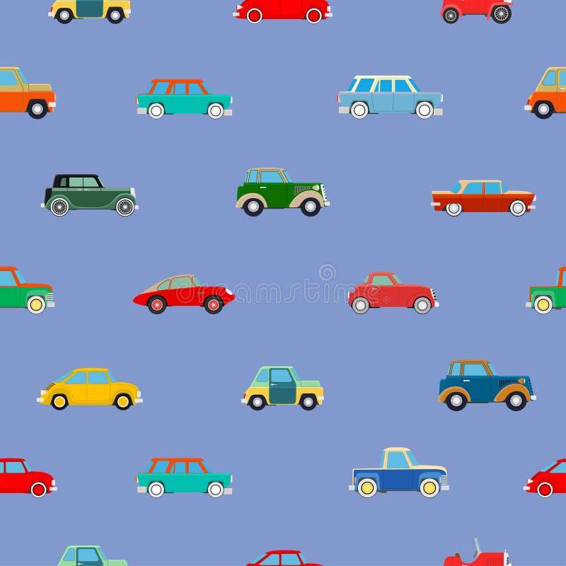 Papel pintado inconsútil de coches libre illustration