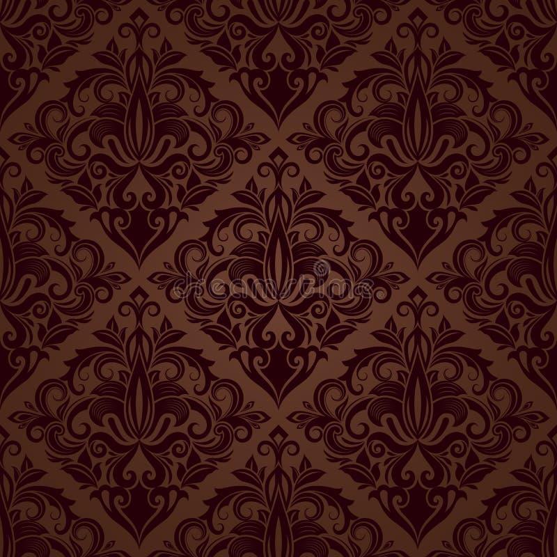 Papel pintado marron cheap papel pintado vinlico for Papel pintado salon marron