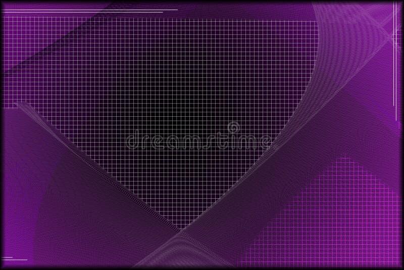 Papel pintado púrpura de la tecnología libre illustration