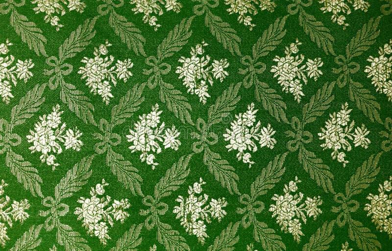 Papel pintado retro floral imagen de archivo libre de regalías