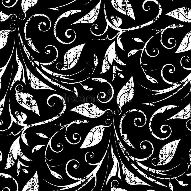 Papel pintado sucio inconsútil stock de ilustración