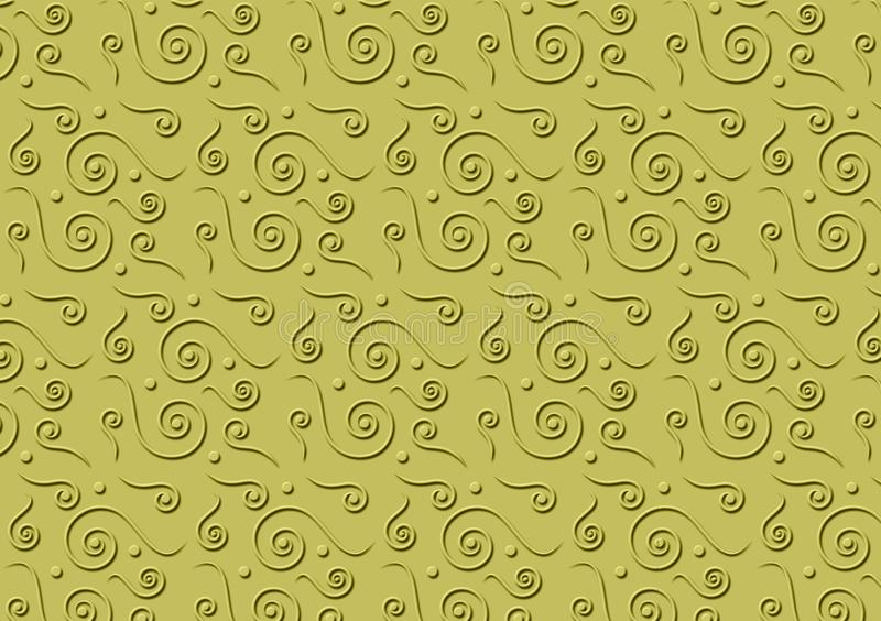 Papel pintado texturizado estampado de flores del fondo libre illustration