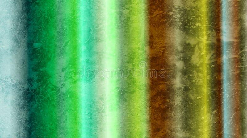 Papel pintado texturizado pared abstracta sombreado borroso mezclado colorido del fondo Ejemplo vivo del vector fotos de archivo libres de regalías