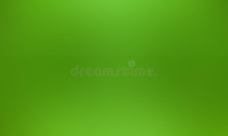 Papel pintado verde abstracto del fondo de la falta de definición ejemplo vivo del vector del color ilustración del vector